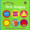 Lift the Flap: First Shapes - Sue Hendra, Caroline Martin, Phil Babb