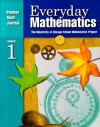 Everyday Math, Grade 5: Math Journal, Vol. 1 - Max Bell, Amy Dillard, Andy Isaacs, James McBride