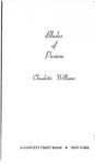 Blades of Passion - Claudette Williams