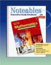 Mathematics: Applications and Concepts, Course 1: Interactive Study Notebook with Foldables - Dinah Zike, Douglas Fisher