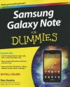 Samsung Galaxy Note For Dummies - Dan Gookin