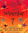 Birth Date Gift Book (November, 7) - Ariel Books