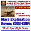 21st Century Complete Guide To Mars Exploration: Mars Exploration Rovers 2003 2004 ¿ Nasa Spirit And Opportunity Rovers (Mer) And The Mars Express Beagle 2 Mission (Three Cd Rom Set) - World Spaceflight News