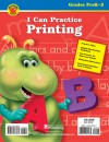 I Can Practice Printing, Grades K - 2 - Brighter Child, Vincent Douglas, Brighter Child