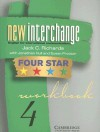 New Interchange 4 Four Star Workbook - Jack C. Richards, Jonathan Hull, Susan Proctor