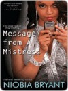 Message from a Mistress - Niobia Bryant