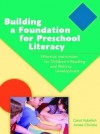 Building a Foundation for Preschool Literacy - Carol Vukelich, James F. Christie