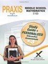 Praxis Middle School Mathematics 5169 Book and Online - Sharon Wynne