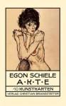 Akte, 10 Kunstkarten - Egon Schiele