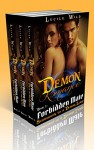 DEMON ROMANCE: Forbidden Mate: The Complete Collection Boxed Set (Paranormal BBW Menage Romance) - Lucile Wild