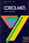 """York Notes on William Shakespeare's """"Coriolanus"""" (Longman Literature Guides) - Andrew Gurr"""