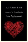 All About Love: Anatomy of an Unruly Emotion - Lisa Appignanesi