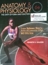 Anatomy & Physiology - 6th Edition - Volume 1 for Bunker Hill Community College (The Unity of Form and Function) - Kenneth S. Saladin