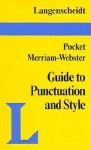 Pocket Guide to Punctuation and Style - Langenscheidt