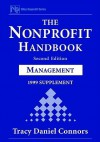 The Nonprofit Handbook, Management: 1999 Supplement - Tracy Daniel Connors, James M. Greenfield