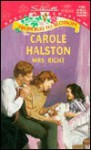 Mrs Right (Transformations) (Silhouette Special Edition, #4125) - Carole Halston