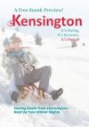 eKensington Sampler: Winter 2013 - Rebecca Zanetti, K.C. Klein, Christie Kelley