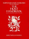 The Supplementary Exercises to Accompany The Holt Handbook - Laurie G. Kirszner, Stephen R. Mandell, Emily Seelbinder