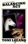 Balancing Act - a Kovak & Quaid Horse Mystery (Book 2) - Toni Leland