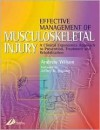 Effective Management of Musculoskeletal Injury: A Clinical Ergonomics Approach to Prevention, Treatment, and Rehab - Andrew Wilson