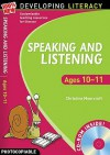 Speaking and Listening. Ages 10-11 - Christine Moorcroft