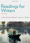 Readings for Writers - Jo Ray McCuen-Metherell, Anthony C. Winkler