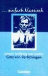 Götz von Berlichingen - Wolfgang Goethe Johann