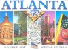 Atlanta Pop Out Map (Popout Map) - Compass Maps