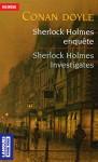 Sherlock Holmes Investigates Sherlock Holmes Enquête - Bernard Dhuicq, Arthur Conan Doyle