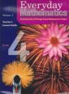 Everyday Mathematics, Grade 4: Teacher's Lesson Guide, Vol. 2 - Max Bell