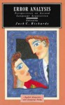 Error Analysis: Perspectives on Second Language Acquisition - Jack C. Richards