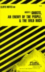 Cliffsnotes Ibsen's Plays II: Ghosts, an Enemy of the People & the Wild Duck - Marianne Sturman, CliffsNotes