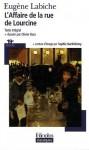 L'Affaire de la rue de Lourcine - Eugène Labiche, Olivier Bara, Sophie Barthélemy