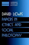 Papers in Ethics and Social Philosophy (Cambridge Studies in Philosophy): v. 3 (Cambridge Studies in Philosophy) - David Kellogg Lewis, Ernest Sosa, Jonathan Dancy