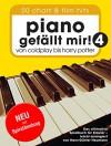 Piano gefällt mir! 50 Chart und Film Hits - Band 4. Von Coldplay bis Harry Potter (Variante Spiralbindung) - Heumann, Hans-Günter
