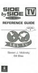 Side by Side 1 Reference Guide 1 - Steven J. Molinsky, Bill Bliss