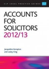 Accounts for Solicitors 2012 - Lesley King