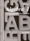 Algebra 1: Home School Tests - John H. Saxon Jr.