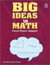 Math Workbook: Big Ideas in Math, Grade 8 Student Workbook - continental press