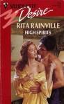 High Spirits (Silhouette Desire, No 792) - Rita Rainville