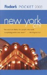 Fodor's Pocket New York City 2003 - Fodor's Travel Publications Inc.