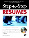 Step-By-Step Resumes: Build an Outstanding Resume in 10 Easy Steps! [With CDROM] - Evelyn U. Salvador