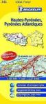 Michelin Map France: Hautes-Pyrnes, Pyrnes Atlantiques 342 - Michelin Travel Publications