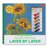 Acrylic Painting Layer by Layer: Sunflower Splendor Kit - Mia Tavonatti