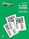 All about . . . Crosswords, Vol 3: All about Choirs - Donald Moore