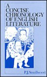 A Concise Chronology of English Literature - Philip Smallwood