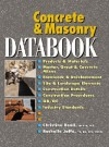 Concrete and Masonry Databook - Christine Beall, Rochelle Jaffe