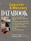 Concrete and Masonry Databook - Christine Beall, Rochelle Jaffe