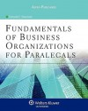 Fundamentals of Business Organizations for Paralegals - Deborah E. Bouchoux