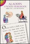 Aladdin Sticker Storybook - Thea Kliros